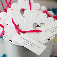 Bucket of Love Plantable Seed Favors