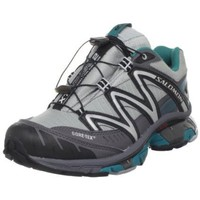 Salomon Women`s XT Wings 2 GTX Trail Running Shoe,Light Onix/Dark Cloud/Dark Bay Blue,5 M US