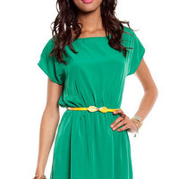 Bow Belted Dress ~ TOBI