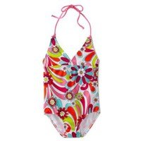 Kanu Surf Toddler Girls Imagine 1 Piece Swimsuit