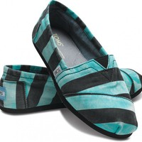 TOMS - Aqua Beckett Women&#x27;s Vegan Classics