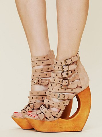 Free People Rockley Cut Out Wedge