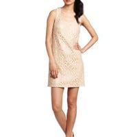 Ali Ro Women`s Lace/Sequin Combo Racerback Dress