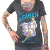 Star Wars, Girls V-Neck T-Shirt, Her Highness