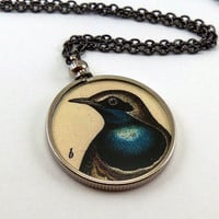 Double-Sided Bird Necklace - FREE Shipping