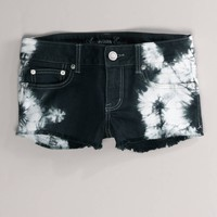 AE Tie-Dyed Denim Shortie | American Eagle Outfitters