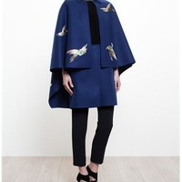 VALENTINO | Double Felt Cape Coat | Browns fashion & designer clothes & clothing