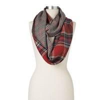 Manhattan Accessories Co. Mixed Media Infinity Muffler Scarf