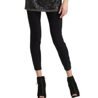 DKNY Women`s Cotton Stretch Leggings (2-Pack)