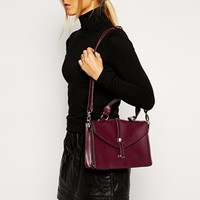 Style London Structured Cross Body Bag With Detachable Strap at asos.com
