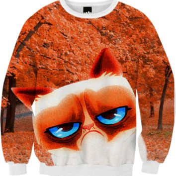 Angry Autumn Cat created by ErikaKaisersot | Print All Over Me