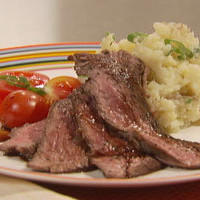 "Steak With Cauliflower ""Mashed"" Potatoes - myLifetime.com"