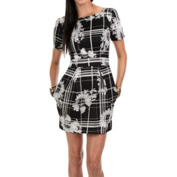 French Connection Women's Contemporary Wilderness Check Dress at Von Maur