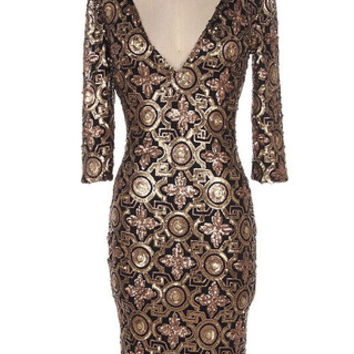 Gatsby Couture Sequin Dress