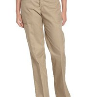 Dickies Women`s Wrinkle Resistant Multi Use Pocket Pant With Stain Release Finish