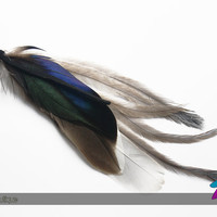 vigil // single feather earring or necklace
