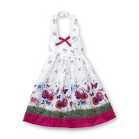 Blueberi Boulevard Infant & Toddler Girl's Sundress - Floral & Butterflies