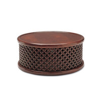 New Safari Drum Table - Furniture - Products - Products - Ralph Lauren Home - RalphLaurenHome.com