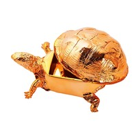 Box Turtle Box in Copper Chrome by Areaware - Pop! Gift Boutique