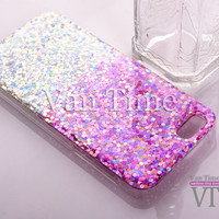 Glitter,  iPhone 5 case, iPhone 6 case, iPhone 5s case iphone 6 plus case iPhone 5c 4s case Galaxy S4 S5 Note 3, Phone case G007