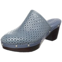 Rockport Women`s Meja Plain Mule Clog,Petrol/Grey,5.5 M US