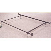 Twin or Full Size Frame/Rail w/Glides for Headboard & footboard