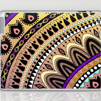 MOONFLOWER Laptop & iPad Skin by Nika  | Society6