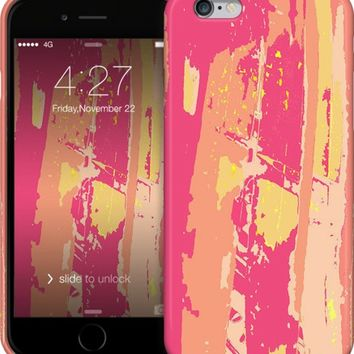 Sherbert palms iPhone Cases & Skins by Rosie Brown Creations | Nuvango