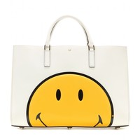Smiley Ebury Large leather tote