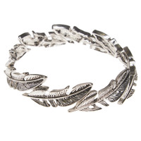 Boho Feather Stretch Bracelet | Wet Seal