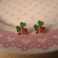 Clover Earrings (Clover Stud Earrings)