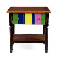 Color Square Side Table