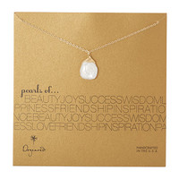 Dogeared Pearls Of & Keshi Pearl Necklace