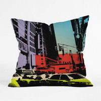 New York Bebop Pillow Cover
