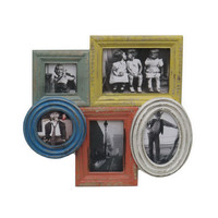 Colorful Past Frames - Set of 5