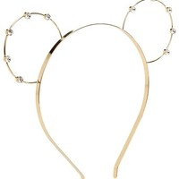 Accessorize Womens Bear Ear Alice Band