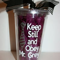 50 shades of Grey Tumbler