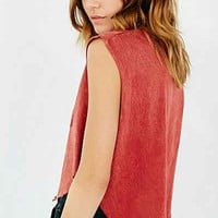 Project Social T Pocket Muscle Tee - Urban Outfitters