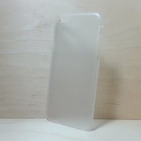 iphone 6 (4.7 inches) hard plastic case - Frosted Clear