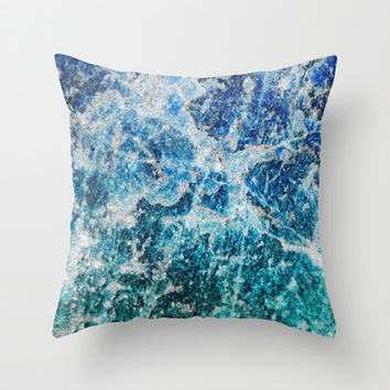 MINERAL MAGIC Throw Pillow by Catspaws | Society6