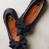 Highbow Suede Skimmers by Anthropologie
