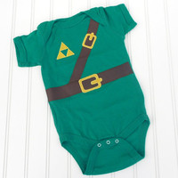 READY TO SHIP Onesuit - Legend of Zelda, Link costume