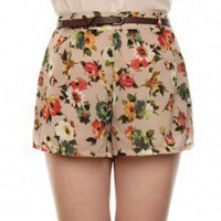 Spring is in Bloom Shorts