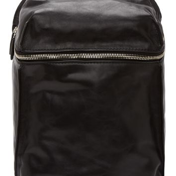 Alexander Wang Black Leather Inside-out Backpack