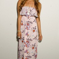 Pretty In Pink Maxi Dress - DRESSES - Shop Online