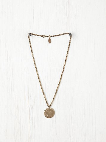 Free People Star Medallion Necklace