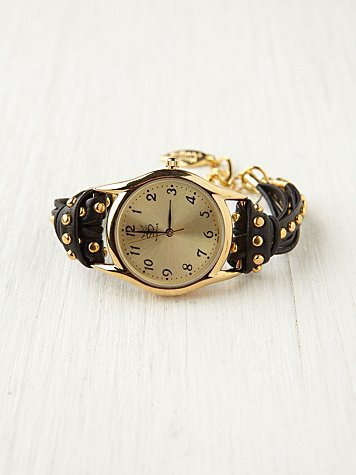 Free People Studded Watch Bracelet