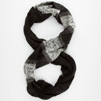 Plaid/Solid Infinity Scarf