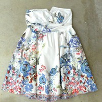 First Floral Garden Dress [2591] - $32.00 : Vintage Inspired Clothing &amp; Affordable Summer Dresses, deloom | Modern. Vintage. Crafted.