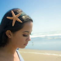 Large Starfish Headband - Cute Adorable - Beach Boho Bohemian - Romantic Whimsical - Dreamy Sea Star - Summer Fashion - Mermaid Collection